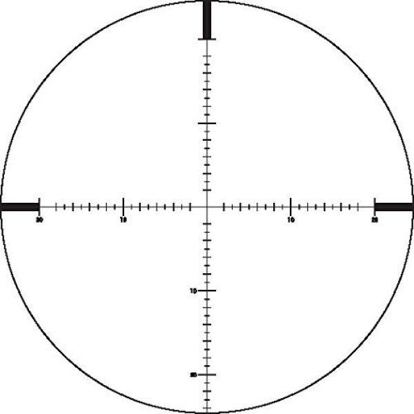 German Precision Optics Rifle Scope 4 GPO Passion 4X 6-24x50 Riflescope (Plex MOA Reticle)
