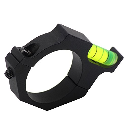 FirstE Rifle Scope Level 6 FirstEOptics Rifle Scope Bubble Level Spirit Level for 25.4mm 1 Inch 30mm Riflescope Laser Sight Tube Ring