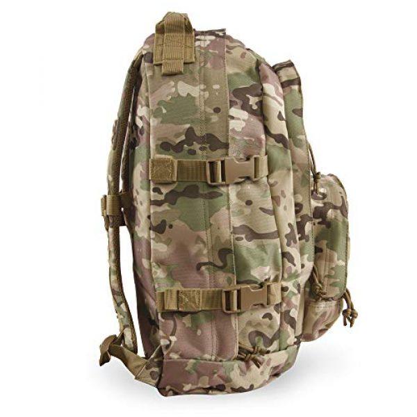 HIGHLAND TACTICAL Tactical Backpack 6 Highland Tactical Men's Basecamp Heavy Duty Tactical Backpack