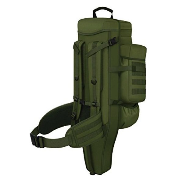 East West U.S.A Tactical Backpack 4 East West U.S.A RT538/RTC538 Tactical Molle Military Assault Rucksacks Backpack, Olive