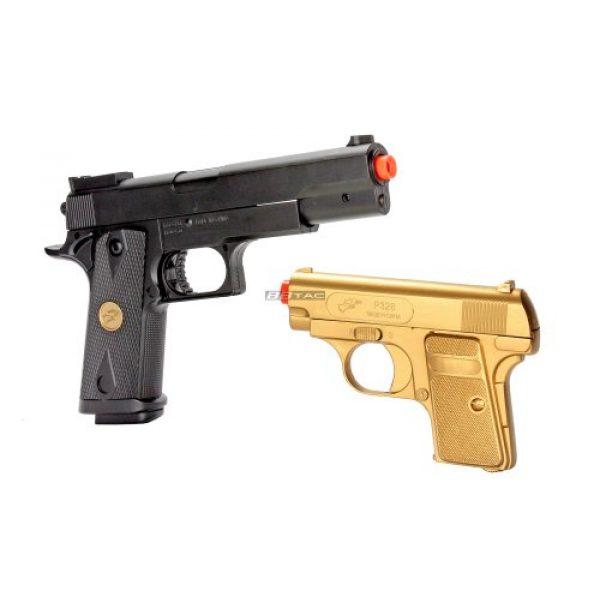 BBTac Airsoft Pistol 6 bbtac bt-p169(1+1) p169 airsoft pistol package, gold(Airsoft Gun)