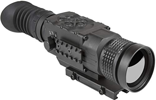 AGM Global Vision Rifle Scope 2 AGM 3093555006PY51 Model Python TS50-640 Medium Range Thermal Imaging Rifle Scope, 640x512 (60Hz) Resolution, 50mm Lens, 2X Optical Magnification, Field of View 14.8x11.8, Waterproof