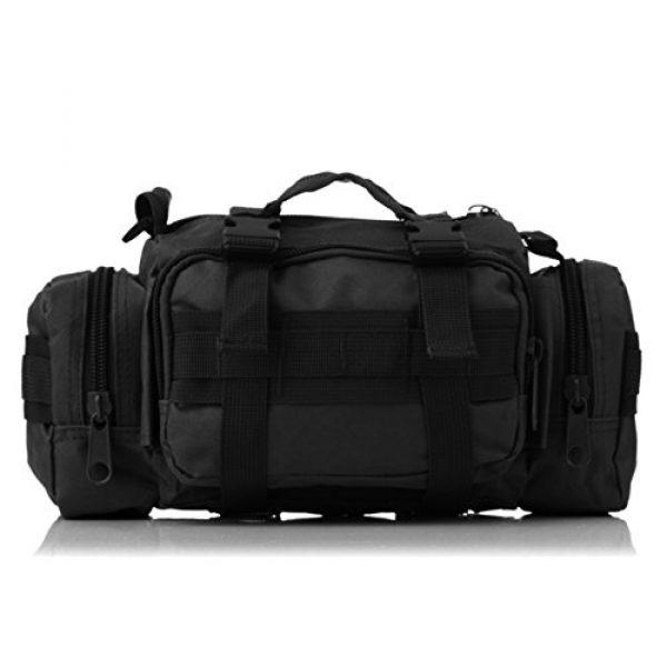 DOUN Tactical Backpack 2 DOUN Tactical Waist Bag Military Versatile Tactical Deployment Bag Hand Carry Bag Molle Waist Pack Camera Bags