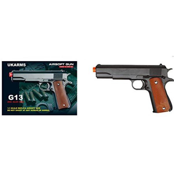 UKARMS Airsoft Pistol 1 ukarms g13 metal gun military m1911 spring airsoft pistol w/ 6mm bb 250 fps(Airsoft Gun)