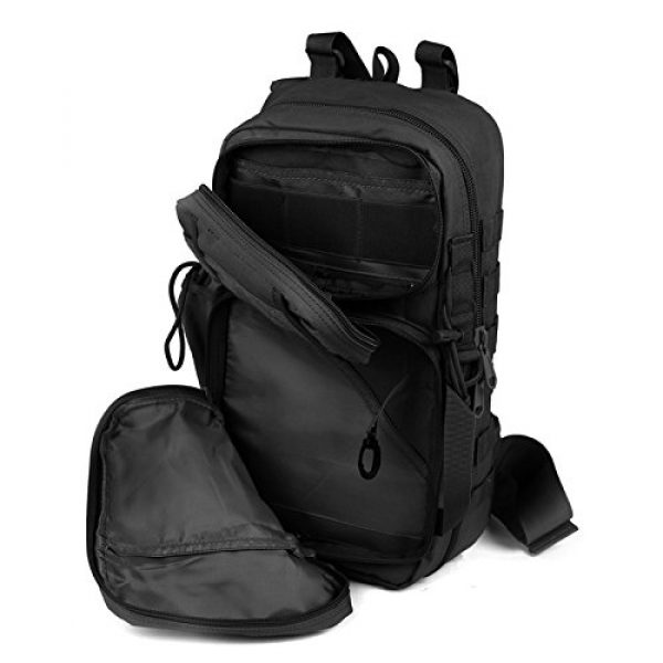ABENAKI Tactical Backpack 6 ABENAKI Tactical Sling Bag Pack Military Rover Shoulder Backpack Bowmen Bag