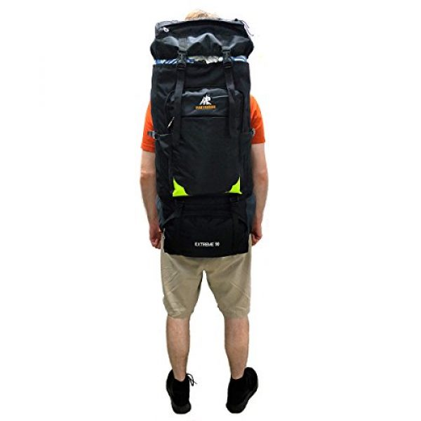 Leeloo Tactical Backpack 2 LeeLoo Extra Large 90 Liter Duffel Bag Travel Backpack for Travelling, Backpacking, Camping, Hiking.