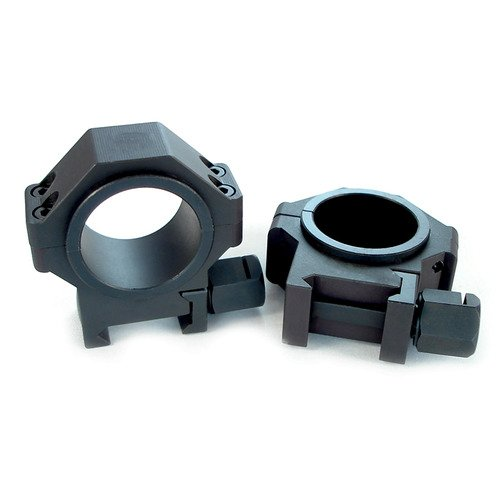 """US Tactical Systems Rifle Scope 1 US Tactical Systems Steel 30 mm Scope Rings w/1"""" Inserts 0.940"""""""