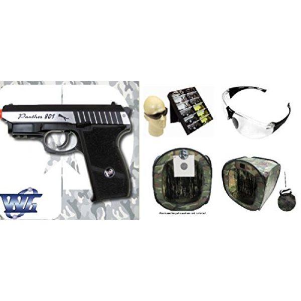 WinGun Airsoft Pistol 1 cbb-4801 WinGun full metal semi auto co2 blowback pistol with free safty shooting glasses and free target trip tent(Airsoft Gun)