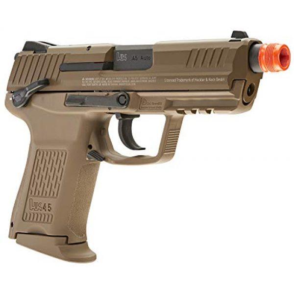 Elite Force Airsoft Pistol 4 Elite Force HK Heckler & Koch HK45 GBB Blowback 6mm BB Pistol Airsoft Gun, FDE