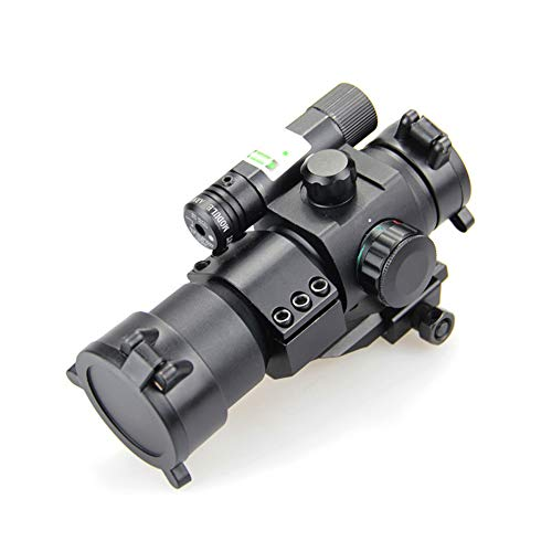 DJym Rifle Scope 5 DJym Blue Film Inside Red Dot Sight, High-Definition Red Dot Fast Sight Waterproofing Anti-Fog Seismic Gift-Level Sight