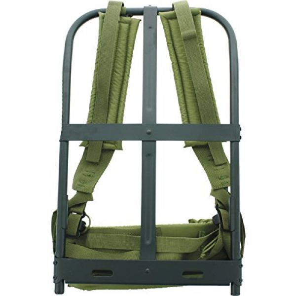 Army Universe Tactical Backpack 1 Army Universe New Black Military Alice Pack Frame with Olive Drab Suspender Straps & LC-1 Kidney Pad