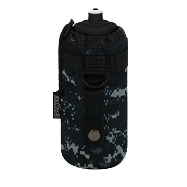 East West U.S.A Tactical Backpack 2 East West U.S.A RTC531 Tactical Military Water Bottle Pouch Molle Kettle Bag Holder
