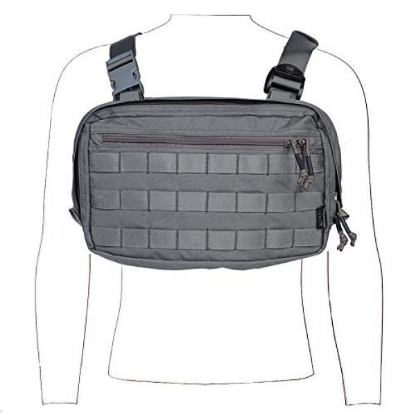 EMERSONGEAR Tactical Backpack 1 EMERSONGEAR Recon Kit Bag,Multi-Function Tool Pouch,Molle Vest Pouch Chest Bag