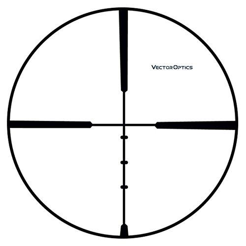 TAC Vector Optics Rifle Scope 5 TAC Vector Optics Corax 2-7x 32mm Hunting Riflescope with 1 Inch Monotube .308 BDC Reticle Color Black