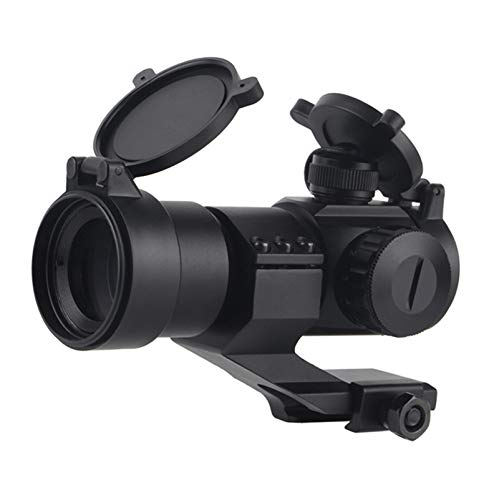UELEGANS Rifle Scope 1 UELEGANS Hunting Scope Sights 4MOA 1x32 Red Green Dot Reflex Sight Scope with Picatinny Cantilever Mount