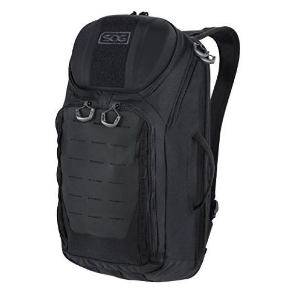 SOG Specialty Knives Tactical Backpack 1 SOG TOC Backpack CP1003B Black, 20 L