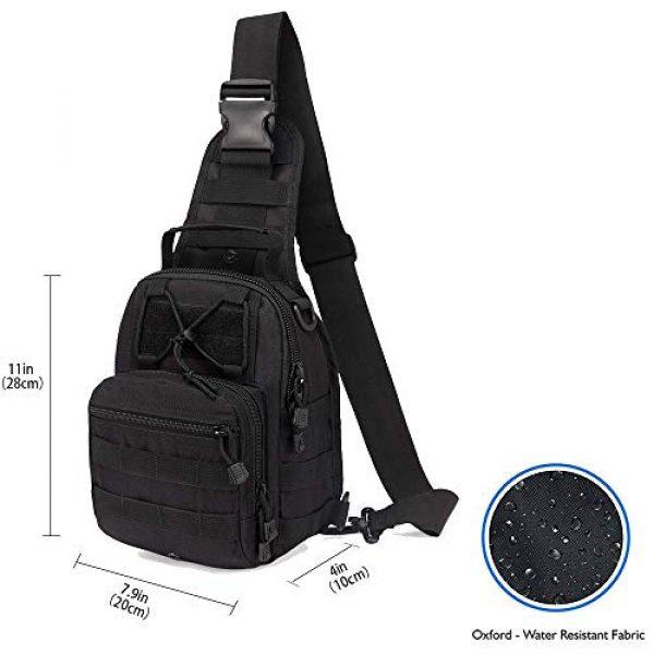 HAOMUK Tactical Backpack 2 HAOMUK Outdoor Tactical Backpack,Military Sport Bag Pack Shoulder Backpack