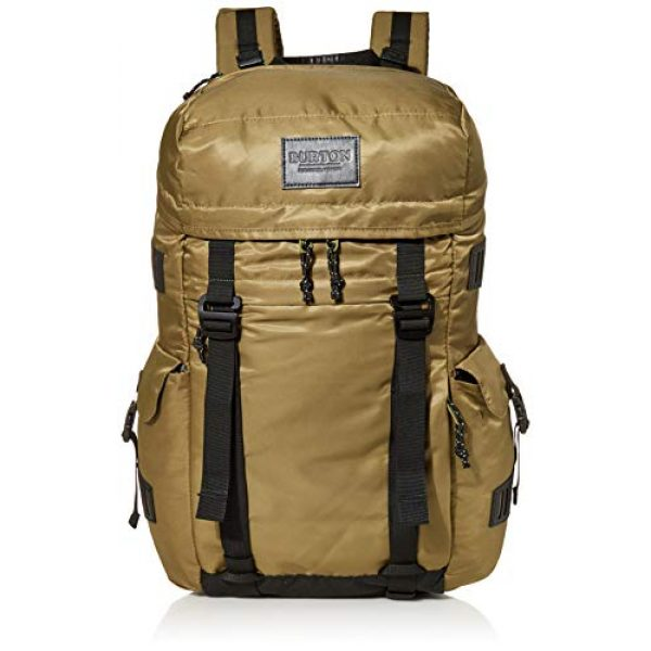 Burton Tactical Backpack 1 Burton Annex Backpack with Padded Laptop Sleeve and Adjustable Webbing