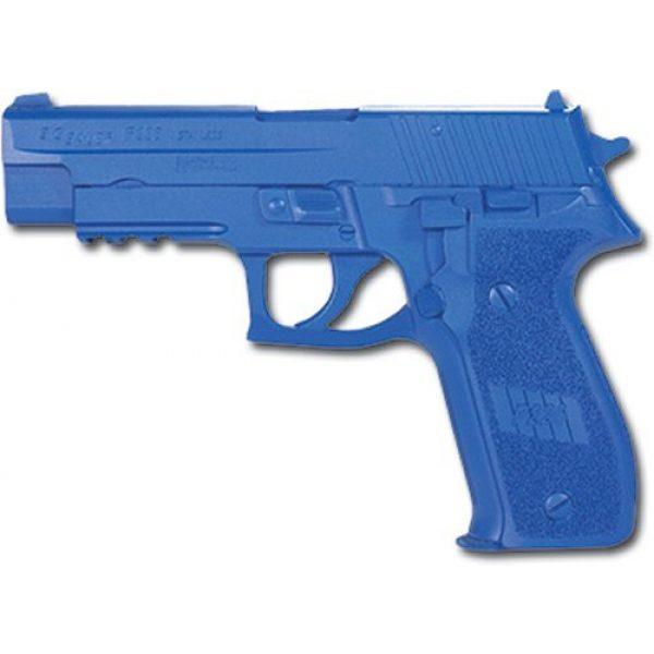 ACK, LLC Rubber Training Pistol Blue Gun 1 ACK, LLC Ring's Blue Guns Training Weighted Sig P226 with Rails