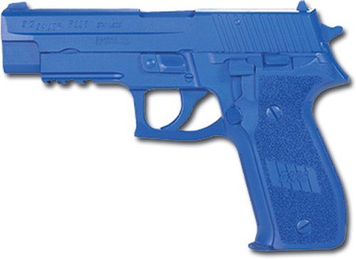 ACK, LLC Rubber Training Pistol Blue Gun 1 ACK, LLC Ring's Blue Guns Training Weighted Sig P226 with Rails