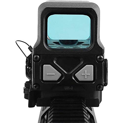 TTHU Rifle Scope 3 TTHU Rifle Scope Red Dot Sight Scope Holographic Sight for 20Mm Rail Hunting Scopes with USB Charge for Hunting