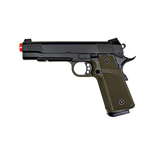 KJW Airsoft Pistol 1 KJW KP-05 1911 Gas Full Metal Grip Pistol, Black/Olive Drab