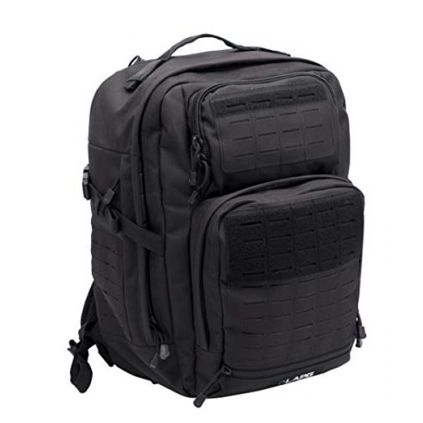LA Police Gear Tactical Backpack 1 LA Police Gear Atlas 24H MOLLE Tactical Backpack for Hiking, Rucksack, Bug Out, or Hunting