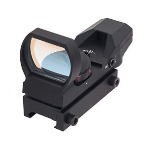 Fashion Sport Rifle Scope 1 Fashion Sport Tactical 1X22X33mm Reflex Sight - Adjustable Reticle 4 Styles Red Green Dot Gun Sight Scope
