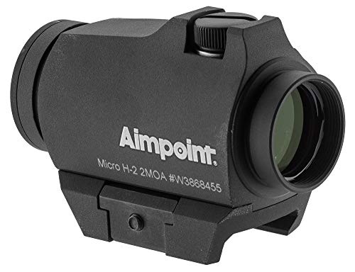 Aimpoint Rifle Scope 4 Aimpoint 200183 Standard Micro H-2, 4 MOA, Complete