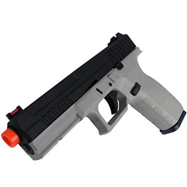 Lancer Tactical Airsoft Pistol 3 Lancer Tactical KJW KP-13 Meta Gas Blowback Airsoft Pistol Urban Grey