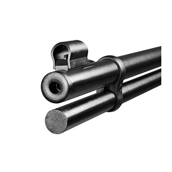 Walther Air Rifle 4 Walther Lever Action CO2 .177 Caliber Air Rifle with Included CO2 90 Gram (2 Pack) and Pack of 500 Pellets Bundle (Pellets Caliber/Weight .177/7.48 Grains) and Wearable4U Cloth