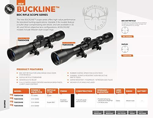 TRUGLO Rifle Scope 2 TRUGLO BUCKLINE Hunting Rifle Scope