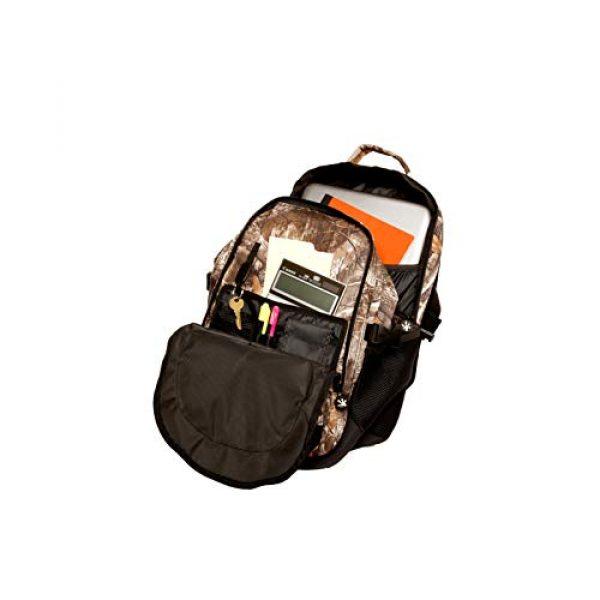 geckobrands Tactical Backpack 3 geckobrands Optivate RT18 Realtree Camouflage Backpack for School & Work