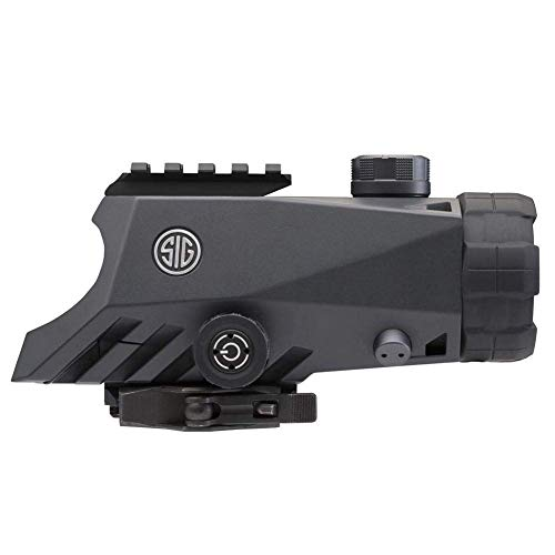 Sig Sauer Rifle Scope 3 Sig Sauer Bravo4 4x30mm Graphite Illum. 5.56/7.62 Horseshoe Dot Reticle Battle Sight