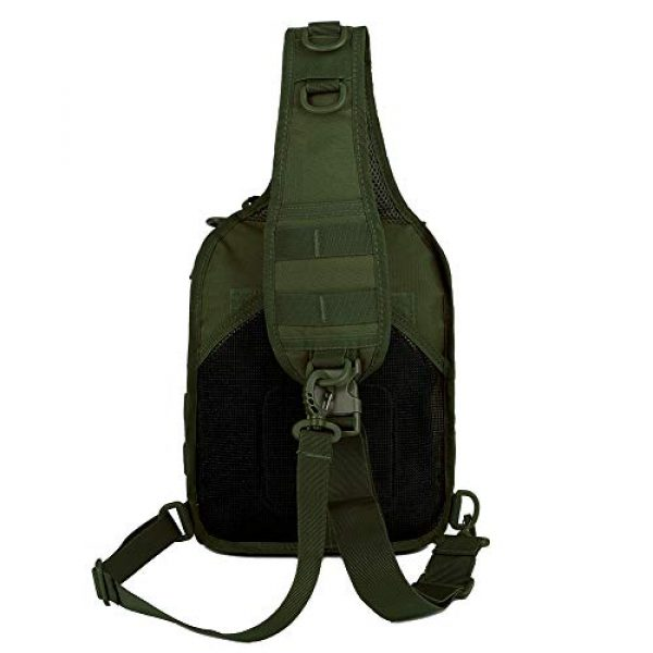 QT&QY Tactical Backpack 4 QT&QY Tactical Sling Bag for Men Small Military Rover Shoulder Backpack EDC Chest Pack Molle Assault Range Bag