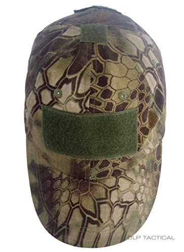 DLP Tactical Tactical Hat 5 DLP Tactical Camo Operator Hat Baseball Cap with Hook and Loop Fastener Panels