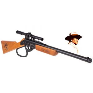 Air Venturi Air Rifle 1 Air Venturi Western Justice John Wayne Lil Duke BB Gun Rifle (Metal Lever - scoped)