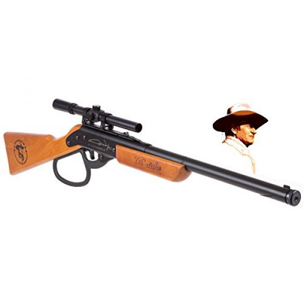 Air Venturi Air Rifle 1 Air Venturi Western Justice John Wayne Lil Duke BB Gun Rifle (Metal Lever - scoped)