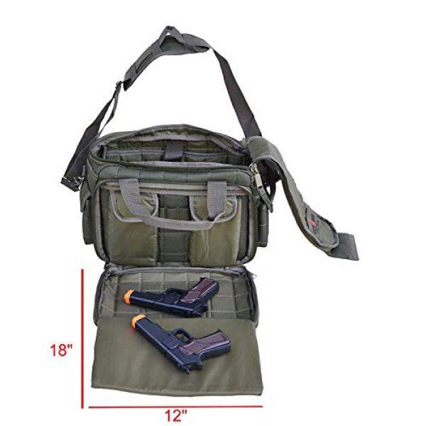 Explorer Tactical Backpack 5 Explorer Tactical 12 Pistol Padded Gun and Gear Bag OD Green