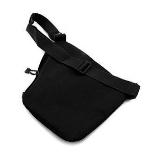 HWZ  1 HWZ Multifunctional Concealed Tactical Storage Gun Bag Holster Men's Right Nylon Shoulder Bag Anti-Theft Bag Chest Bag HuntingCycling