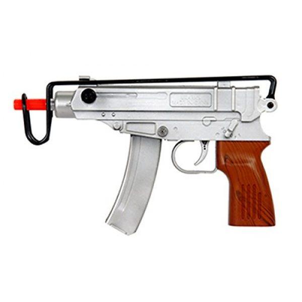 UKARMS Airsoft Pistol 1 UKARMS Spetsnaz 2.0 Uzi Scorpion Spring Powered Airsoft Gun Tactical - Heavy Version -