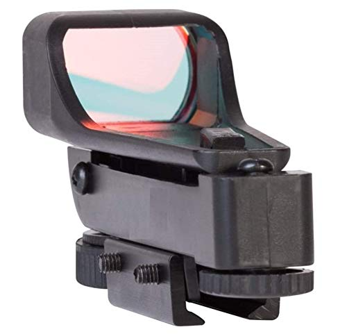 Ultimate Arms Gear Rifle Sight 3 Ultimate Arms Gear Polymer Reticle Red Dot Open Tubeless Reflex Scope Sight Weaver-Picatinny & Dovetail Mount Adapter Rail, Black for Remington 572 .22 Caliber