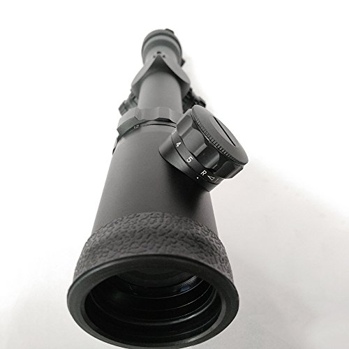SECOZOOM Rifle Scope 5 1-12x30mm Mil Dot Shooting Scopes 12x Zoom Optical Sight Hunting for Strong Fireguns, Shoc-proofed