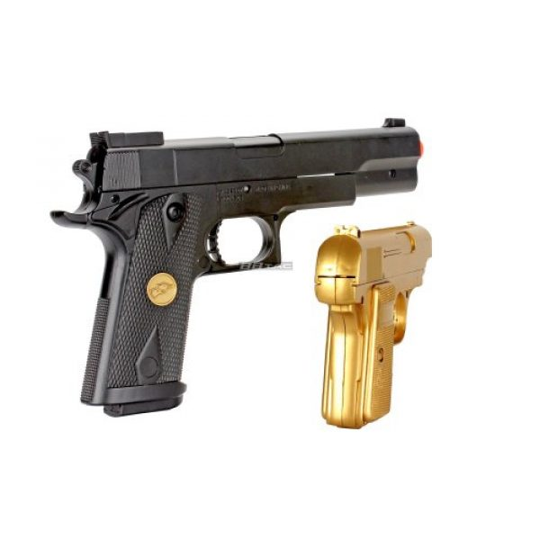 BBTac Airsoft Pistol 7 bbtac bt-p169(1+1) p169 airsoft pistol package, gold(Airsoft Gun)