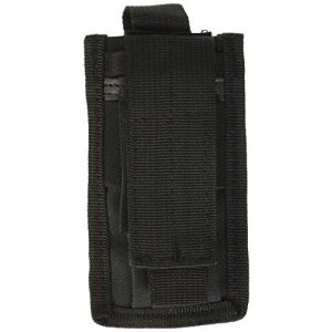 Explorer Tactical Pouch 1 Explorer Multi-Purpose Utility Pouch Travel Wallet for Men LED Tactical Waterproof Flashlight Home Biking Camping Outdoor Emergency Mag Tool Knife Cartridge Clip Bullet Holster Belt Sheath MOLLE EDC, Black, 3.5 x 5-Inch (W1-BK)