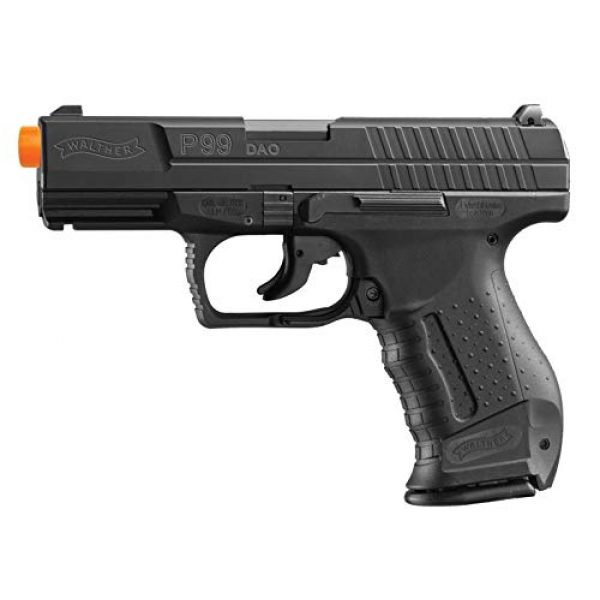 Umarex Airsoft Pistol 1 Walther P99 Blowback 6mm BB Pistol Airsoft Gun, Walther P99 Airsoft Gun