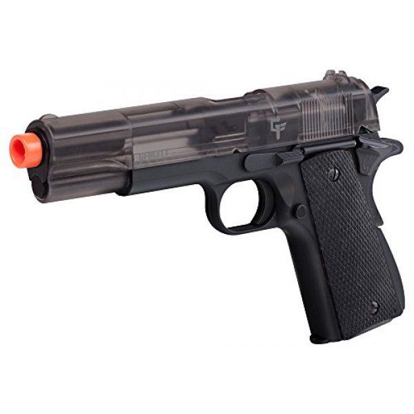 Game Face Airsoft Pistol 1 Game Face APGFM311S Crosman GFM311 Full Metal Spring Powered Airsoft Pistol, Smoke