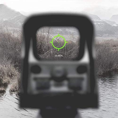 AJDGL Rifle Scope 2 AJDGL 1x22mm Tactical Reflex Mini Red Dot Sight- Optical Holographic Scope Adjustable Brightness for Shooting Hunting