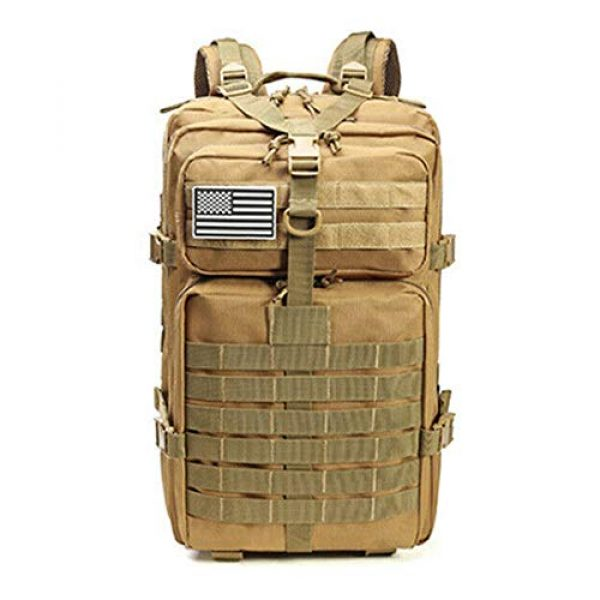 Suoki Tactical Backpack 1 Molle Assault Pack 45L Military Tactical Backpack 3 Day Pack Bag Survival Rucksack