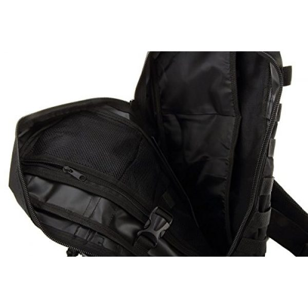 NPUSA Tactical Backpack 6 NPUSA Mens Tactical Gear Molle Hydration Ready Sling Shoulder Backpack Daypack Bag